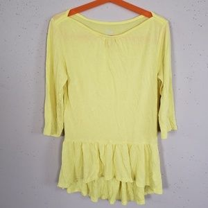 Children's Place Yellow Shirt Girls Size M 7/8